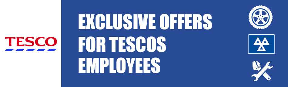 Exclusive offers for tesco employees banner